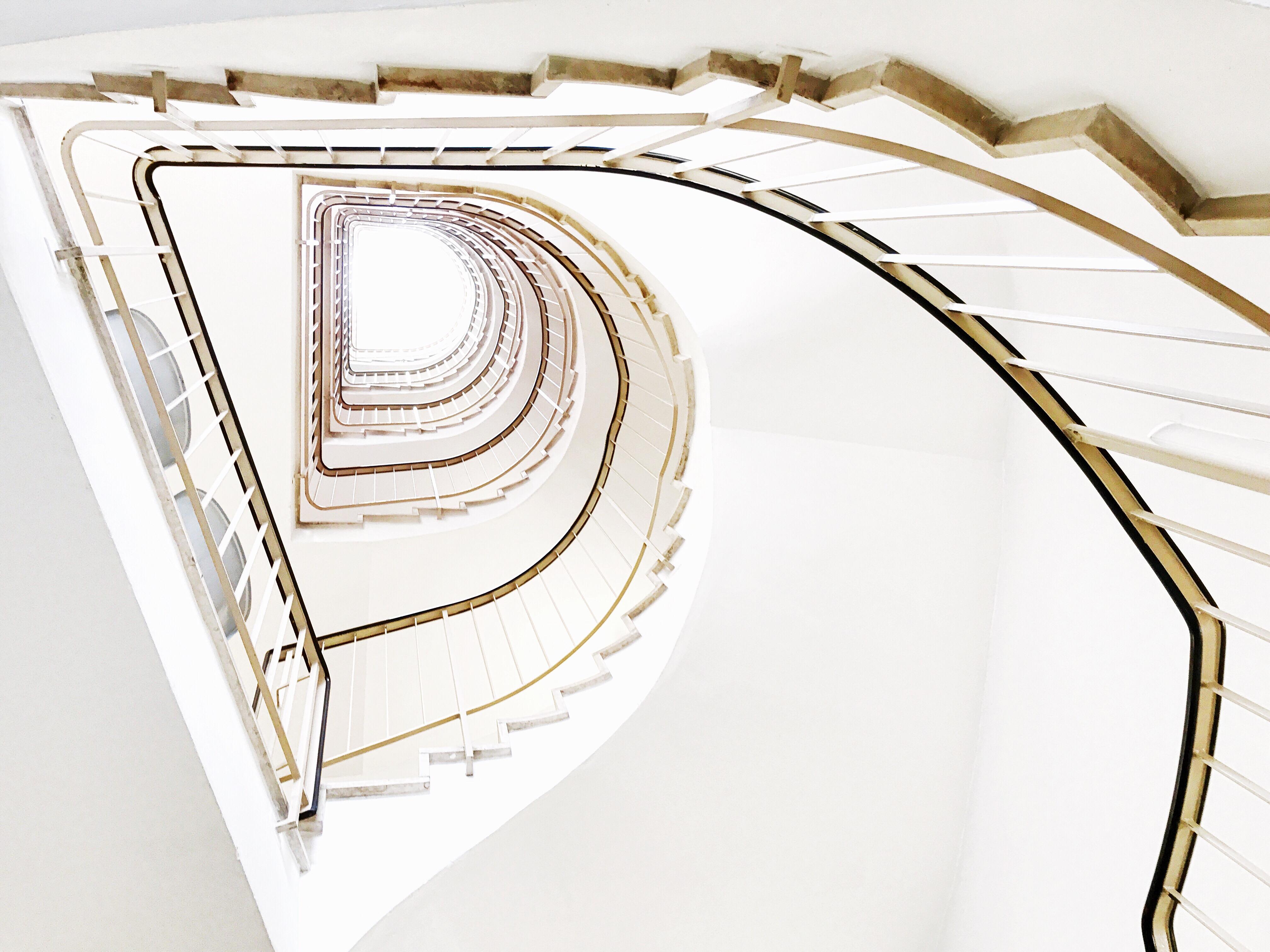 """""""D"""" - Treppenhaus der Taunusklinik"""