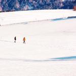 Winterspaziergänger
