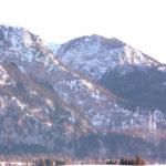 Schloss Neuschwanstein aus ca. 7km Distanz